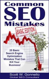 Common SEO Mistakes Book